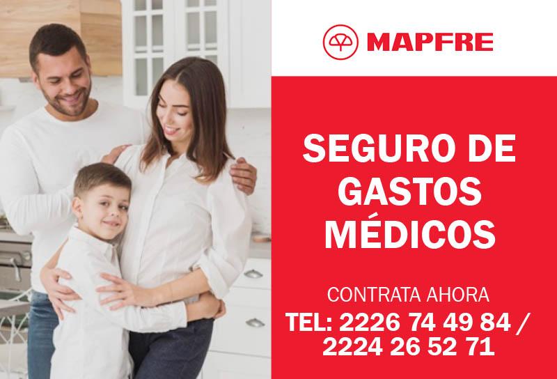 Contratar Seguro Médico MAPFRE GASTOS MEDICOS MAYORES ASESORES M&C CONSULTORES PUEBLA
