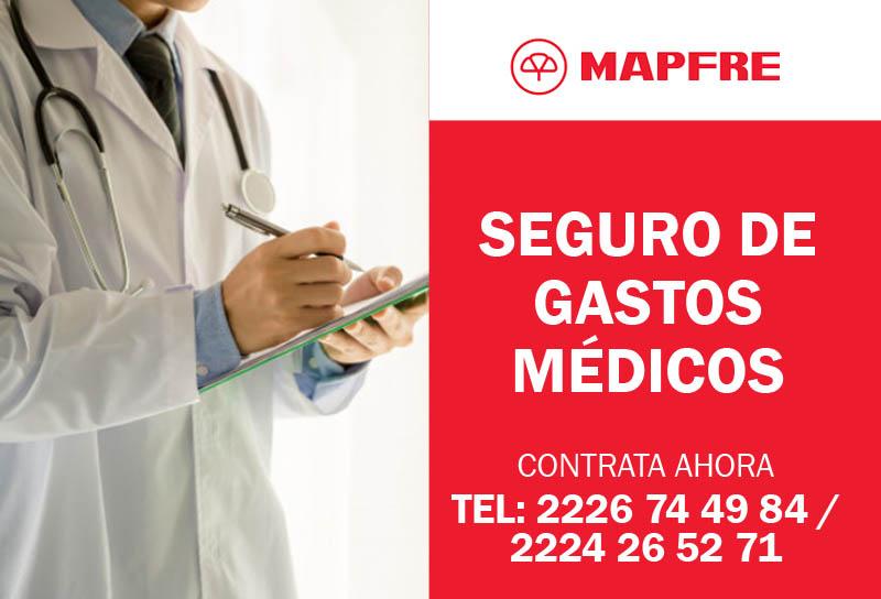 Contratar Seguro Médico MAPFRE GASTOS MEDICOS MAYORES ASESORES M&C CONSULTORES hospitales privados PUEBLA