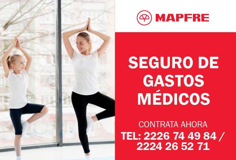 Contratar Seguro Médico MAPFRE GASTOS MEDICOS MAYORES accidente emergencias telefono ASESORES M&C CONSULTORES PUEBLA