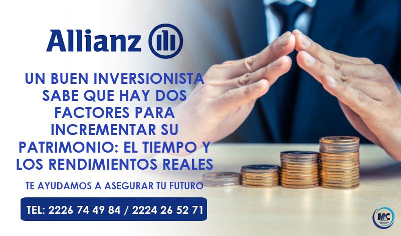 Allianz México seguro de vida seguro gastos medicos inversion ahorro para el retiro mc consultores inversion puebla