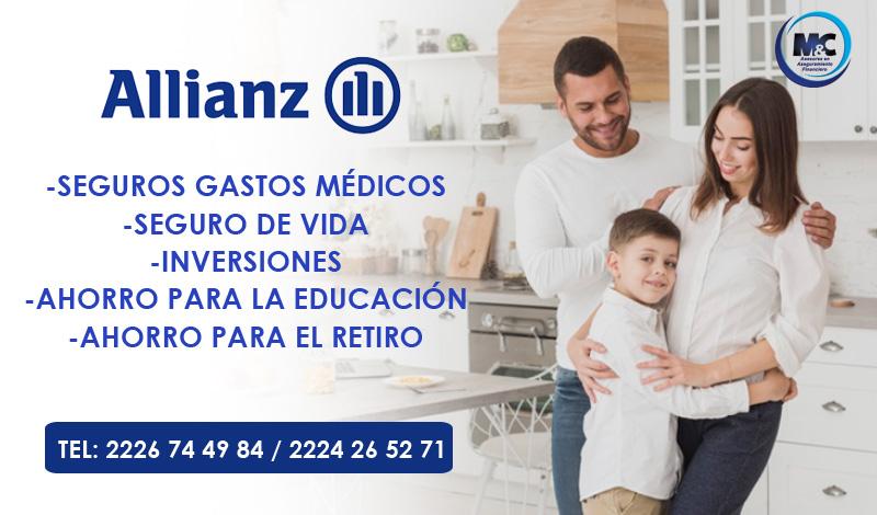 Allianz México seguro de vida seguro gastos medicos inversion ahorro para el retiro mc consultores