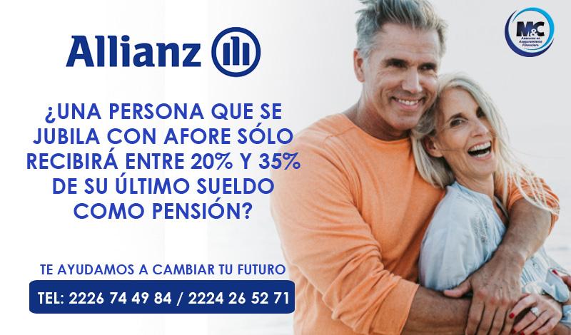 Allianz ahorro para el retiro seguro de vida seguro gastos medicos inversion ahorro para el retiro mc consultores puebla