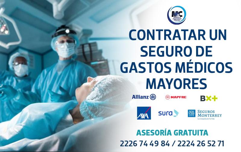 claves para contratar un seguro de gastos médicos mayores CONDUSEF axa sura monterrey mapfre bx+ sura seguros en mexico condusef